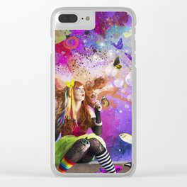 The Endless Delight of Delirium Clear iPhone Case