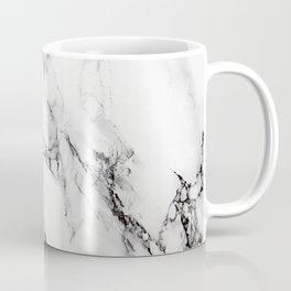 White Marble Texture Coffee Mug