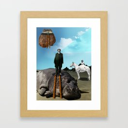 Hypomania Framed Art Print