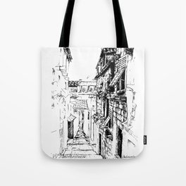 Dubrovnik Old Town Street Tote Bag