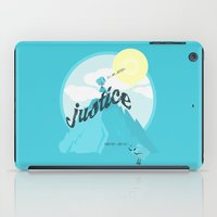 justice iPad Cases featuring Justice !.. by Oblivion Creative