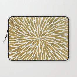 Golden Burst Laptop Sleeve