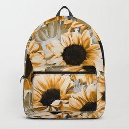 Dreamy Autumn Sunflowers Backpack
