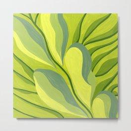 Nature's Green Magic Metal Print