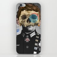 war iPhone & iPod Skins featuring War Collage 2 by Marko Köppe