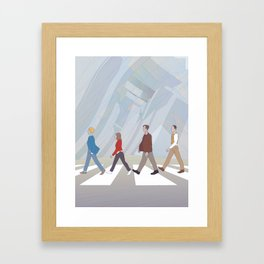 Inception Road Framed Art Print