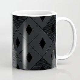 Harlequins - Midnight Black Coffee Mug