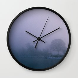 Trees swimming. Wall Clock