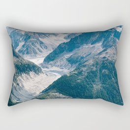 Chamonix, France #society6 #decor #buyart Rectangular Pillow