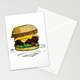 Tasty Hamburger od Awesomnes Stationery Cards