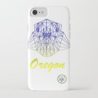 oregon iPhone & iPod Cases featuring Oregon by ArtsyKiwi