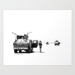 Patrol Art Print