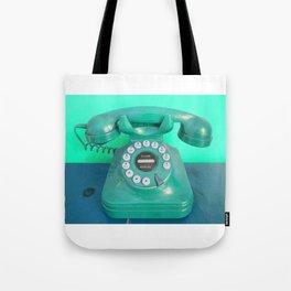Deep turquoise Tote Bag
