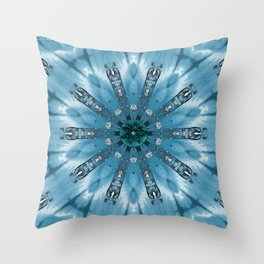 Spicy sunset Throw Pillow