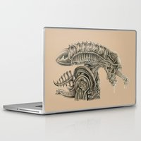 alien Laptop & iPad Skins featuring Alien by AfrAsian