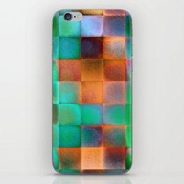 CHECKED DESIGN II iPhone Skin