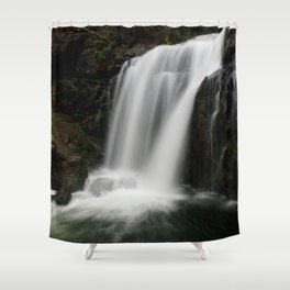 Moose Falls Shower Curtain