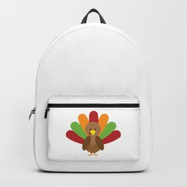 Cute Thanksgiving turkey Backpack