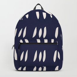 MATISSE ABSTRACT CUTOUTS . BLUE WHITE Backpack