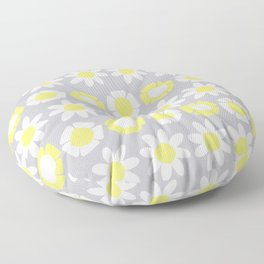 Peggy Yellow Floor Pillow