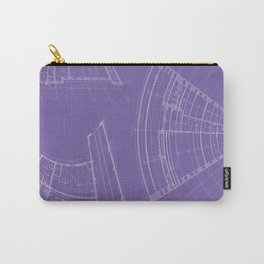 architectural drawings Carry-All Pouch