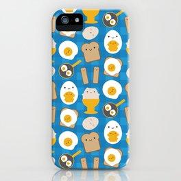 Kawaii Eggs For Breakfast iPhone Case