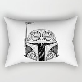 baba fett decor Rectangular Pillow