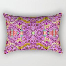 fantasy flower festoon garland of calm Rectangular Pillow