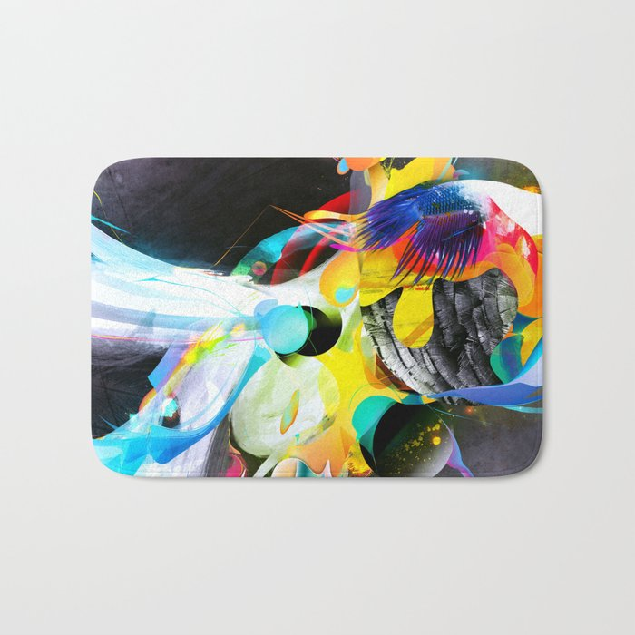 Vivid Reflections Bath Mat