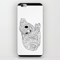 sphynx iPhone & iPod Skins featuring Sphynx  by Camelo