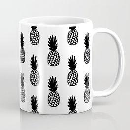 Black Pineapple Coffee Mug