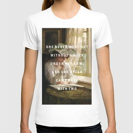 never without a book T-shirt