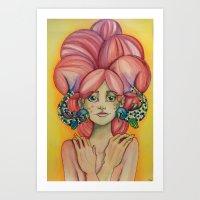 """""""Bubble Affection"""" Art Print"""