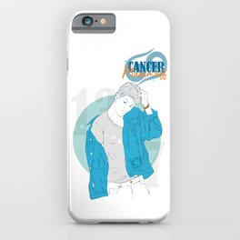 Maximoff - Cancer Star Sign iPhone Case