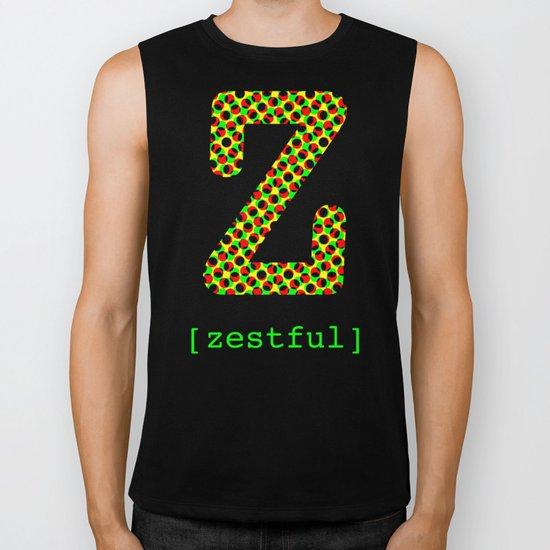 #Z [zestful] Biker Tank