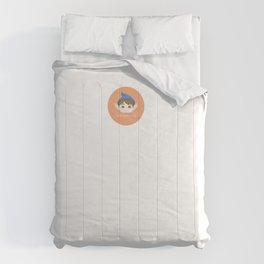 Cuty pie Piximoji Badge Style Comforters