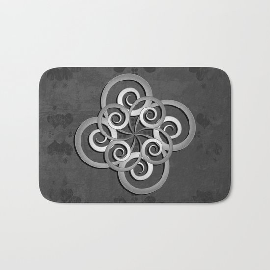 Beautiful Celtic style design Bath Mat