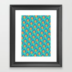 Squirtle Squad Framed Art Print