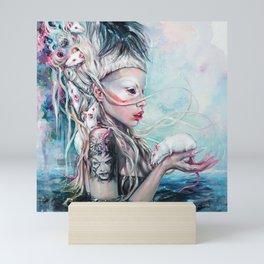 Yolandi The Rat Mistress  Mini Art Print