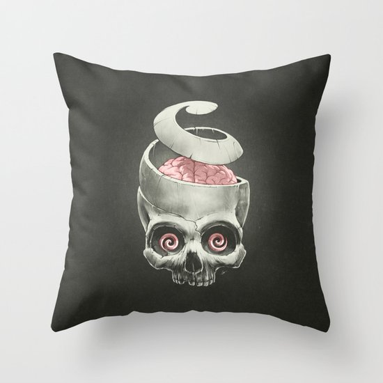 Open Your Mind! Throw Pillow