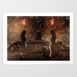 The Lord of Death Art Print