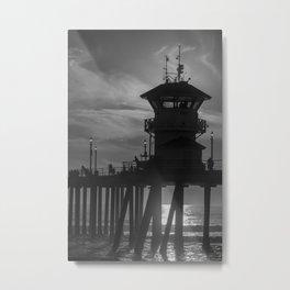 Zero Silhouette Metal Print