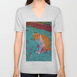 Popular Animals - Cat Unisex V-Neck
