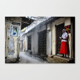 Stone Town Canvas Print