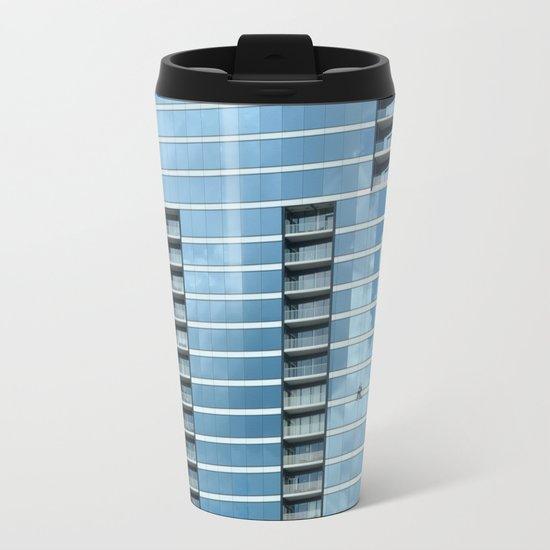 BLUE CHICAGO Metal Travel Mug
