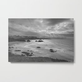 Clatsop - Oregon Coast Metal Print