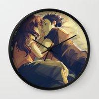 viria Wall Clocks featuring I hear your voice by viria