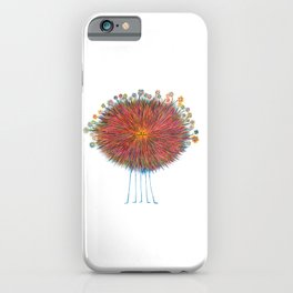 Poofy Frizzle Muff iPhone Case