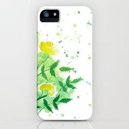Marigold 2 iPhone Case