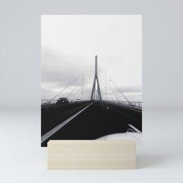 On The Road Mini Art Print